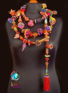 Beaded jewelry by Kris Empting-Obenland