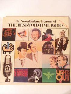 The Nostalgia Lane Treasury of Best of Old Time Radio - Records Radio Vintage Radio Shows by NadyasVintageNook on Etsy