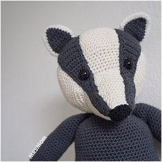 Badger Free English and Dutch pattern on blog linkhellip