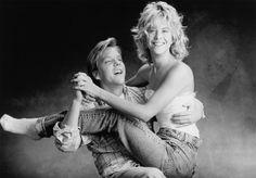 Meg Ryan and Kiefer Sutherland in Promised Land