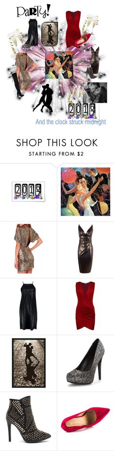 """""""And the clock struck midnight"""" by sally-a-chapman ❤ liked on Polyvore featuring Boohoo, Silhouette and Liliana"""