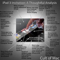 iPad 3 Invitation - bit over-analyzed..