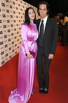 Susie Bick (L) and Nick Cave attend the GQ Men Of The Year Awards at the Tate Modern on September 5, 2017 in London, England.