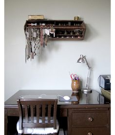 Wall Hung Toolbox for Small Item Storage