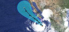 El Servicio Meteorológico Nacional (SMN) anunció que Norbert, que pasó a ser huracán categoría I la noche del miércoles, podría disminuir su velocidad y bajar a depresión tropical, de acuerdo a la escala Saffir-Simpson, para esta tarde. Por lo pronto, continúa su desplazamiento lento, a 9 Km/h, hacia el noroeste del territorio mexican