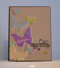 Crazy for Card Making: PTI Butterflies & Always Playing with Paper