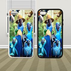 Rio 2 The Movie Hybrid iPhone 4 4s 5 5s 5c Case Cover Hard
