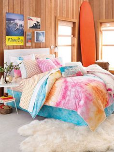 Malibu Surfer Comforter Set by Teen Vogue Bedding - cute idea for Kayla Blue's impending big girl bed.