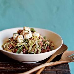 Antipasto Salad with Bocconcini and Green-Olive Tapenade | Food & Wine