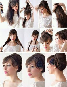 An Audrey Hepburn Esque High Chignon Hair Pinterest Chignons