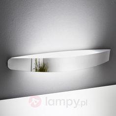Półokrągła lampa łazienkowa ścienna PRIME 6042116X