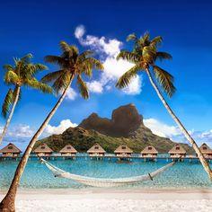 Bora-Bora. Polynesia