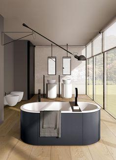 Arcadia Cibele vasche da bagno di Ceramica Cielo | Vasche ad isola