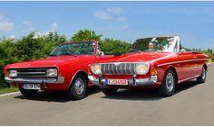 Vergleich: Opel Rekord C Cabrio und Ford 20 M TS Cabrio |