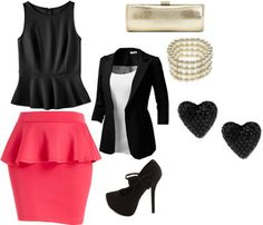Valentine's outfit idea