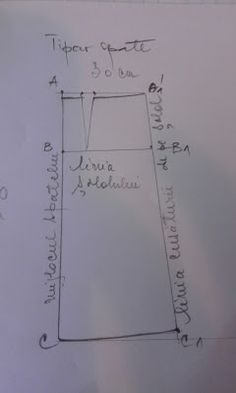 Adriana  Hobby: Tiparul de fustă clasică măsura 46 - 48