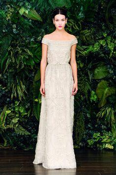 Classic vintage vestido de novia.