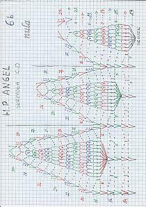 ANIOŁKI na Stylowi.pl Pineapple Crochet, Bullet Journal, Crochet Christmas, Hand Stitching, Chart, Picasa, Amigurumi, Blouses, Crochet Christmas Cozy