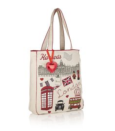 Harrods Crowning Glory Canvas Bag £21.95