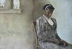 Andrew Wyeth - AROUND THE CORNER - 27 X 20 Inches Horizontal Unframed ...