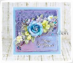 Scrap & Craft: New collection Studio75 - Lavender Morning
