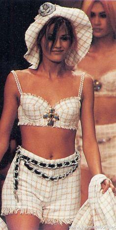 Yasmin Le Bon - CHANEL, 1994