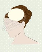 The Ultimeat Guide to Wedding Veils; birdcage