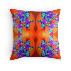 orangine......pillows by amanji