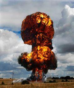 photoshopped explosions