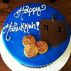 hanukkah cakes | Happy Hanukkah cake