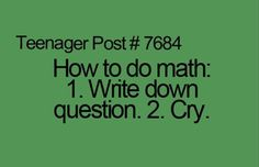 math+quotes | How To Do Math - Quotes A Day
