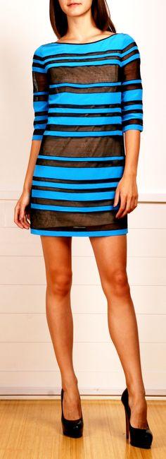 Robert Rodriguez Dress . . . (For me:   Make it longer  &  Make the slip black)