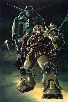 ガンダム緑 - 大河原邦男ザク緑 | Gundam *