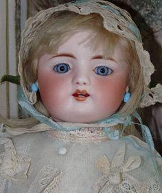 Rare and Early Simon & Halbig Child - Bunny's Babies #dollshopsunited