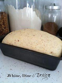 My favorite fluffy, easy, homemade sandwich bread
