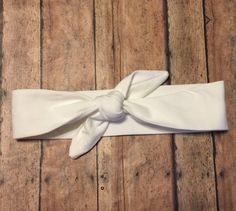 Off White Baby Girl Knot Headband  Baby Headwrap by BBgiftsandmore