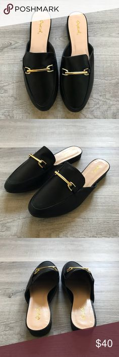 9f69b9d1293 9 Best black mules images in 2016   How to wear, Black mules, Fashion