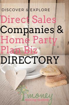 Trying to find the best direct sales companies to suit your personality? Huge list of the newest and more traditional companies out there. Cash From Home, Earn Money From Home, Make Money Fast, Work From Home Moms, Home Party Business, Successful Home Business, Home Based Business, Business Ideas, Online Business