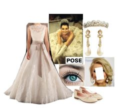 """C&D's daughter's official 16th birthday portrait"" by mrsprinceharry ❤ liked on Polyvore featuring TIARA and Taryn Rose"