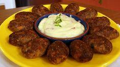 O Bolinho de Carne Assado com Molho de Requeijão é uma opção deliciosa para todos os seus melhores momentos. Faça e confira! Veja Também:Bolinho de Batata