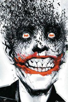Batman - Joker Nietoperze - plakat - 61x91,5 cm  Gdzie kupić? www.eplakaty.pl