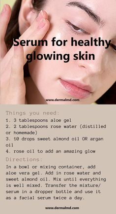 Unclog Pores, Anti Aging Treatments, Rose Oil, Without Makeup, Aloe Vera Gel, Jojoba Oil, Glowing Skin, Calming, Serum