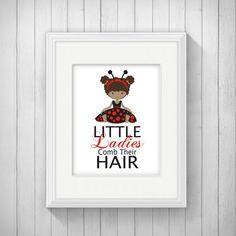 Ladybug Bathroom Prints Little Ladies By Simplylovecreations