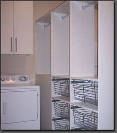 Laundry | Org, Inc. | Custom Laundry Room Storage and Cabinets