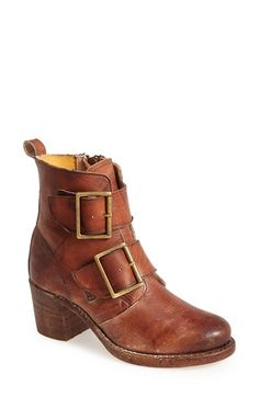 Frye 'Sabrina' Double Buckle Bootie (Women) available at #Nordstrom