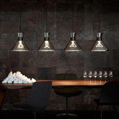 LIGHT YEARS | Lámpara colgante moderna PHARAOH en aluminio. #iluminación #decoración