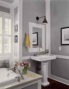 Paint Sherwin Williams Requisite Gray