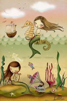 Sirenas.- LaliblueShop