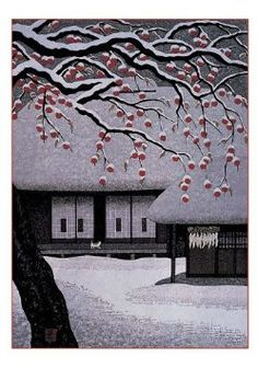 Kazuyuki Ohtsu, Japanese woodblock printer. Beautiful work