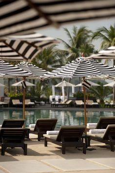 The Ocean Beach Club serves international and Thai fusion cuisine. Luxury Hotels, Best Hotels, Fine Hotels, At The Hotel, Ocean Beach, Beach Club, Phuket, Resort Spa, Relax